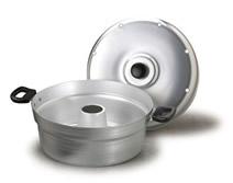 pentola fornetto in alluminio con coperchio